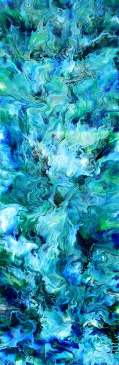 The Sea - Abstract by Eric Siebenthal - Acrylicmind.com