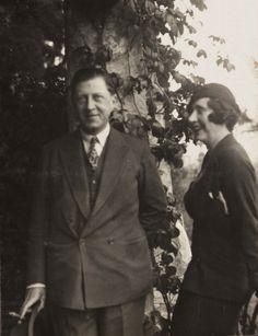 Osbert Sitwell and Violette Trefusis