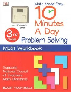 10 Minutes a Day Problem Solving: 3rd Grade, With 10-Minute Timer