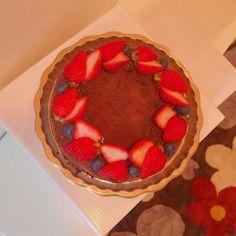 チョコレートケーキのガナッシュのケーキです(^ω^) - 15件のもぐもぐ - チョコレートケーキ by ゆの