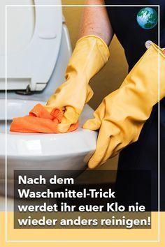 Nach dem Waschmittel Trick werdet ihr euer Klo nie wieder