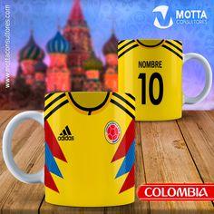 TAZA colombia RUSIA 2018 #mottaplantilla