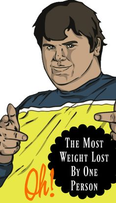 What's the greatest human weight loss ever recorded?  – Oh, my! That's interesting| Random Fun Facts