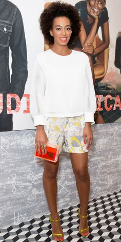 | Solange Knowles - Look of the Day - InStyle