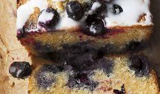 Yotam Ottolenghi- Lemon almond and blueberry cake Yotam Ottolenghi, Ottolenghi Recipes, Baking Recipes, Cake Recipes, Loaf Recipes, Fruit Recipes, Sweet Recipes, Otto Lenghi, Lemon Loaf Cake
