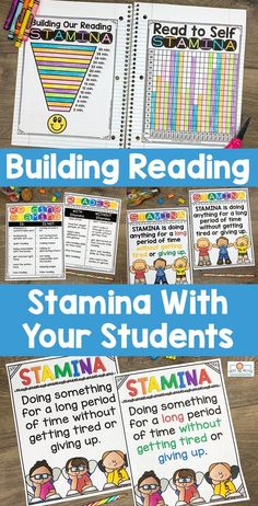 This Reading Stamina set will help build stamina with students. You will receive 32 pages of anchor charts, posters, and graphing sheets to help your kids build stamina while having fun! This product is perfect for the and grade classroom. Stamina Anchor Chart, Anchor Charts, Reading Stamina, Reading Goals, What Is Reading, Teaching Boys, Read To Self, 5th Grade Classroom, 3rd Grade Reading
