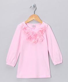 Take a look at this Pink Floret Dress - Toddler & Girls by Kosse Designs on #zulily today!