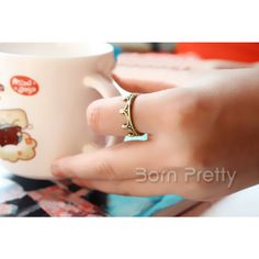 i love it <33  I find an excellent product on @BornPrettyStore, 1Pc Vintage Crown Shaped Ring Fashion Ring at $0.99. http://www.bornprettystore.com/-p-12042.html