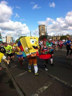 Great North Run  2014 - Tyne Bridge