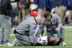 Ohio State Rallies Past Michigan; J.T. Barrett Injured in Sideline Incident