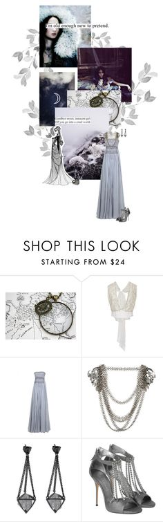 """""""Alayne Stone"""" by summersdream ❤ liked on Polyvore featuring CO, Rodarte, Fannie Schiavoni, Digby and Iona and Casadei"""