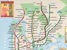 """A """"Sub Culinary"""" Ride Through New York"""