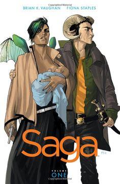 Saga Vol. 1 by Brian K. Vaughan & Fiona Staples