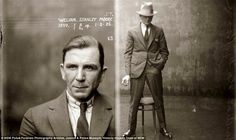 Even the mugshots were classy back then.