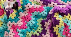 Have You Ever Made A Granny Ripple Blanket? Find Out How Here!