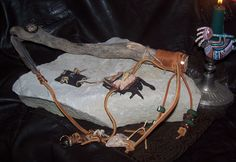 A NATIVE AMERICAN WAND made By me with so many SPIRITUAL adornments..IT has so much POWER...