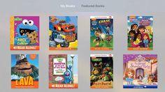 #Literatura #Para_niños #infantil iBooks StoryTime, nueva app de lectura infantil de Apple para el televisor