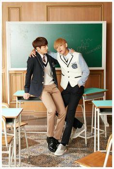 B A N G T A N | V x Jungkook |  BTS For Smart School Uniform #BTS