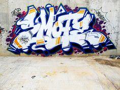 Smote Graffiti Writing, Graffiti Wall Art, Urban Graffiti, Graffiti Tagging, Graffiti Styles, Graffiti Lettering, Grafitti Street, Wildstyle, Subway Art