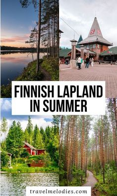 Planning a trip to Lapland with kids? Finnish Lapland in summer is as delightful as in winter. The midnight sun makes it all the more magical. Here's a guide to why and how you should visit Lapland in summer. Finland Summer, Santa's Village, Finland Travel, Lapland Finland, Europe Holidays, Visit Santa, Maui Vacation, Amazing Destinations, Travel Destinations
