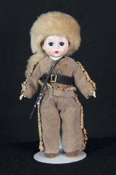"Madame Alexander Vintage 8"" Davy Crocket Boy Doll from 1955 Extremely RARE | eBay"