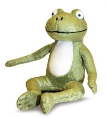 Room on the Broom Frog 7 Inch Soft Toy,