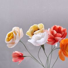 21 best paper flowers by paper play design images on pinterest making flowers on a rainy day paperplaydesign papercraft paperflowers craftsposure mightylinksfo