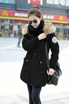 c299f67b09c nice Парка женская зимняя с натуральным мехом (50 фото) — Разнообразие  моделей модных курток · Длина Больше СреднегоЗимние Пальто ...