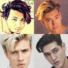 #navdeepsingh #navdeepamn #luckybluesmith #hairstylesformen #menshairstylestrends #hairstyleonpoint Lucky Blue Smith, Hairstyles, Men, Instagram, Haircuts, Hairdos, Hair Looks, Hair Styles, Style Hair