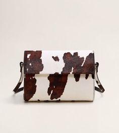 1cd55aa696f7 Mango Animal Print Leather Bag Prada Purses