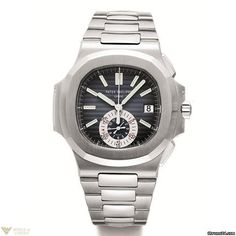 Patek Philippe Nautilus Automatic Chronograph Stainless Steel Men's Watch Model No. 5980/1A-014