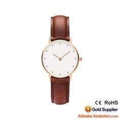 3W-DW20, Daniel Wellington Type Diamond Women Watch, click picture to create your own brand watch.