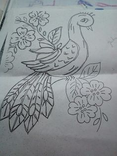 Lark Bunting And Columbine Colorado State Bird Flower