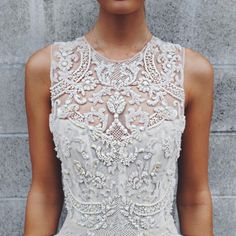 lace + sequin dress