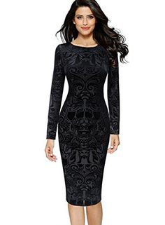 db9d127ba07 online shopping for VfEmage Womens Elegant Velvet Slim Casual Party Cocktail  Bodycon Dress from top store. See new offer for VfEmage Womens Elegant  Velvet ...