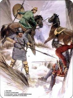 Franks vs Lombards