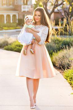 Midi Skirts, Mid Length Skirts – Morning Lavender