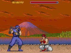 Street Fighter, arcade.