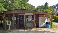 George and Pink Vegetable Stand (Edisto Island, SC). - US 17 Coastal Highway