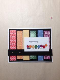 Stampin' Up! Love Bug kids birthday card