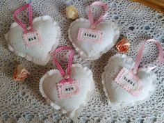 Mothers Day Padded Hearts