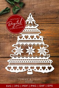 This Pattern Christmas Tree design is supplied in SVG, EPS, DXF, PNG, PDF & JPG format. It is perfect for hand paper cutting and machine cutting (please make sure the file format is compatible with your machine before purchase). Christmas Clipart, Christmas Paper, Christmas Crafts, Christmas Decorations, Christmas Ornaments, Christmas Phrases, Paper Cutting Patterns, Paper Cutting Templates, Christmas Tree Design