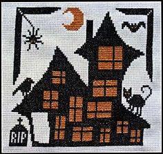 Animal House Cross Stitch Pattern - Clearance Cross-stitch Patterns, Clearance