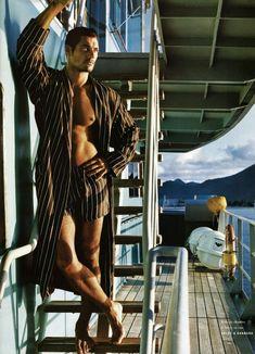 David Gandy Spring/Summer 2011 edition of Vogue Hommes International