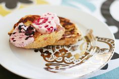 French Toast wtih Berry Butter - from Pioneer Woman