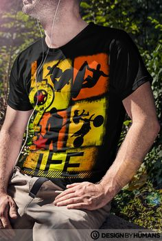 Guys nab one of our ultra #cool #designer #love life #tees exclusively from @designbyhumans Check it out here http://www.designbyhumans.com/shop/t-shirt/men/love-life-extreme-sports/35470/  This awesome design is also available as #cell #cases #tees and #wall #prints and other cool stuff. Nab yours today #clothing #apparel #fashion #design #graphics #designbyhumans #case #dbh #dbhtees #tshirt #tees #graphics #designbyhumans #tshirt #tshirts #sports #dirtbike #skater #rock #star #surfer…