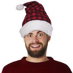 Yellow w//White Trim Holiday Felt Santa Hat One Size 1 per pkg.