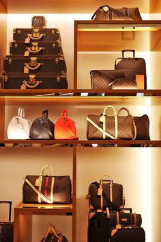 Nice way to store expensive purses or luggage or any carry-all for that matter .