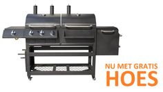 BBGRILL Grand Canyon houtskool&gas BBQ NU MET GRATIS HOES!