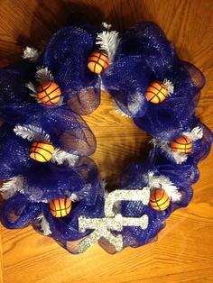 UK Deco Mesh Wreath